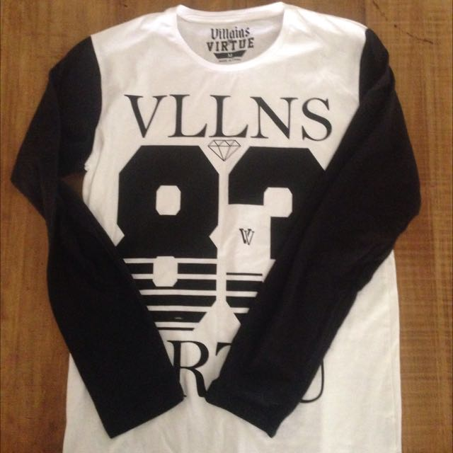 Villains Long Sleeve Top