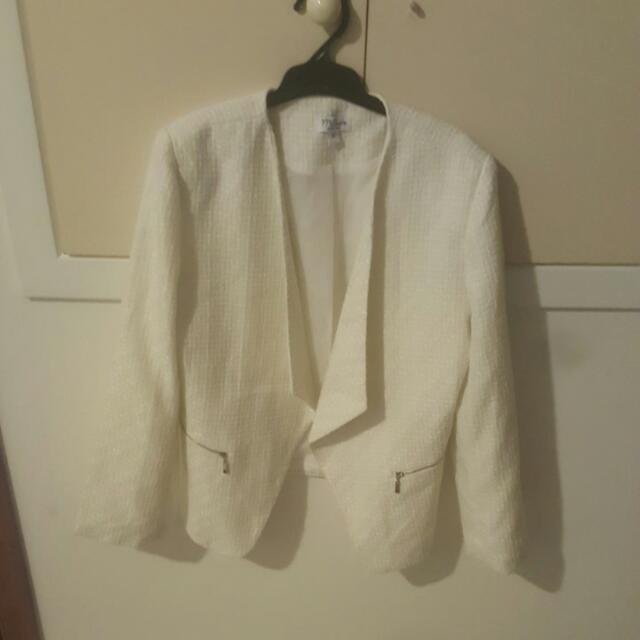 White Business Jacket