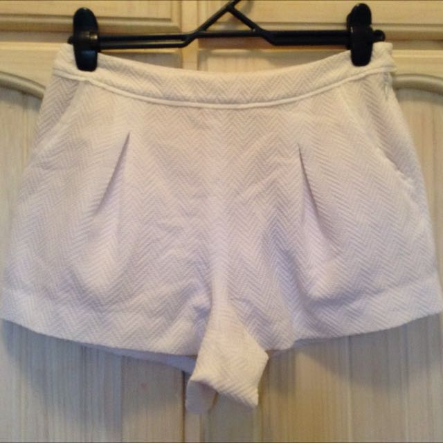 Witchery White Shorts