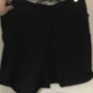 Black Shorts Size 12 Still With Tags