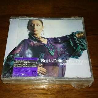 Ayumi Hamasaki Bold And Delicious Pride CD DVD Japan