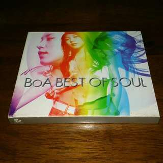 Boa Korea Japan Best Of Soul CD Greatest hits album