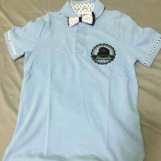 BSX長版polo衫