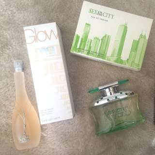 Glow By JLow And Sex In The City Perfume