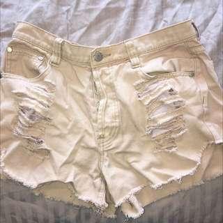 Mink Pink High Waisted Shorts