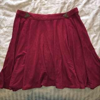 Ladakh High Waisted Flow Skirt