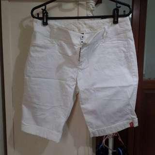 *BN* ESPRIT White 3/4 shorts