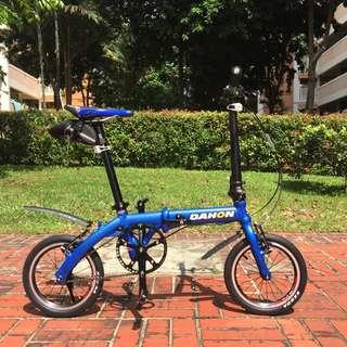 *PREORDER* 2016 Dahon Dove Folding Bike Steel Blue (Fully Litepro Upgraded)