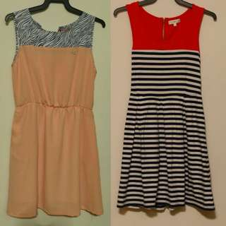 12$ (mailed) Fit and Flare dress