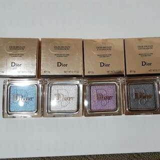 4x Brand New Dior Bronze Eyeshadow