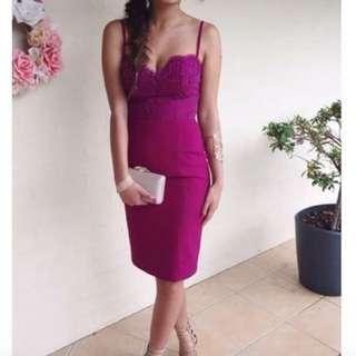 🦄Plum Formal Dress