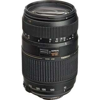 Tamron AF 70-300mm F/4-5.6 Di LD (Nikon Mount)