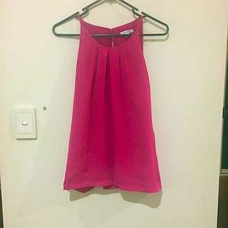 Valley girl Pink Top