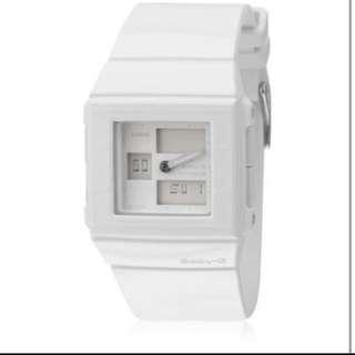 Casio 卡西歐 Baby G Bga200 7e 全白色系