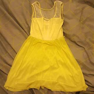 Miss Shop Yellow Dress