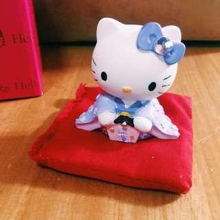 Hello kitty台灣限定版開運擺飾公仔