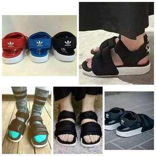 adidas涼鞋(((熱賣款)))
