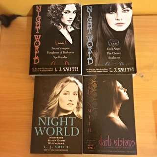 Night World 1-3, Dark Visions