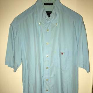 GANT short Sleeve Button Up (large)