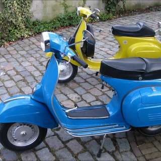 Need Blue Vespa For Rent