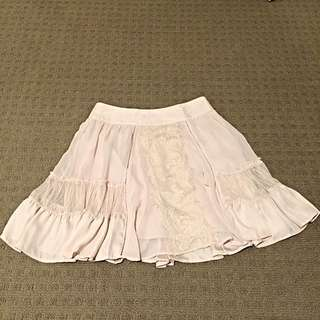 PORTMANS Skirt With Lace Detailings