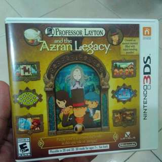 Nintendo 3DS Professor Layton And The Azran Legacy