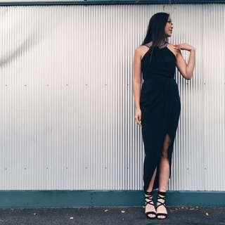 Forever New Black Formal Dress