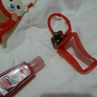 LIMITED EDITION Red Christmas Bell Pocketbag