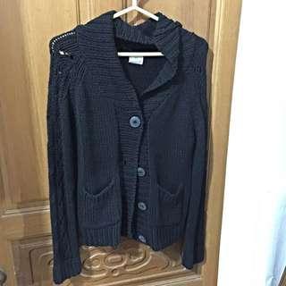 🚚 黑色毛線外套