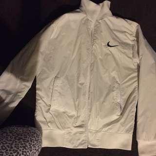 White Authentic Nike Jacket