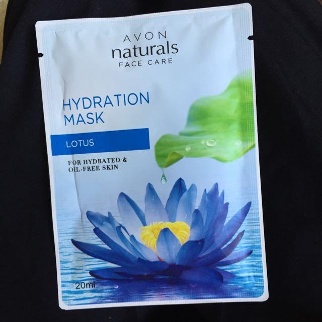 雅芳植物系列-荷花水潤面膜 20ml