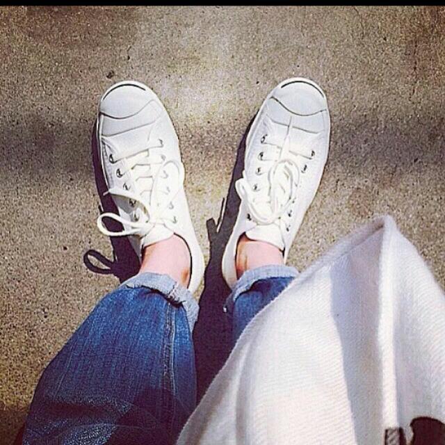 開口笑 帆布鞋