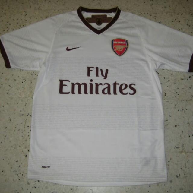 cheap for discount 99f18 4ece0 Authentic Arsenal 2008 Away Kit