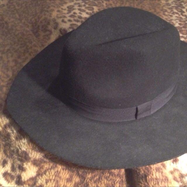 Black Festival Hat, Fendora