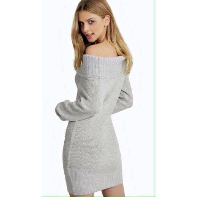 Boohoo Knit Dress BNWT Size 14/L