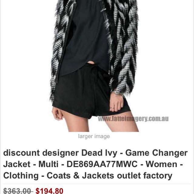 Dead Ivy Winter Fur Jacket ! 💎urgent Sale