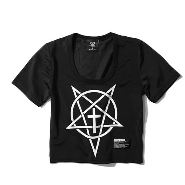 Destroyland EVIL STAR 女款短版T-SHIRT