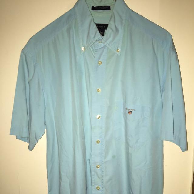 GANT short Sleeve Button Up (large)