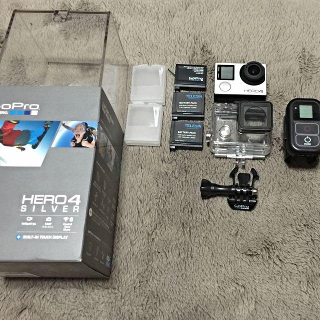 GoPro Hero4 Silver 大全配