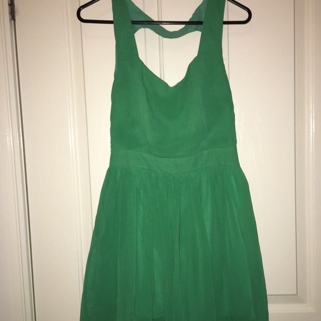 Green Heart Dress