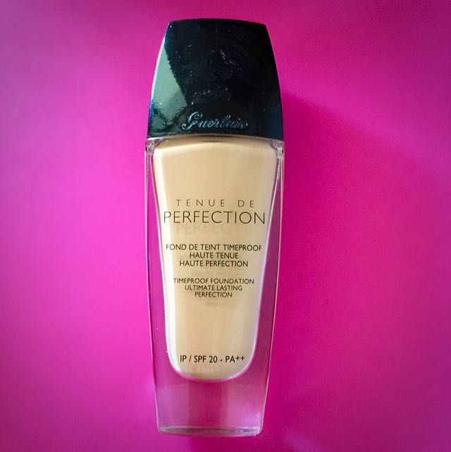 Guerlain Timeproof Foundation 01