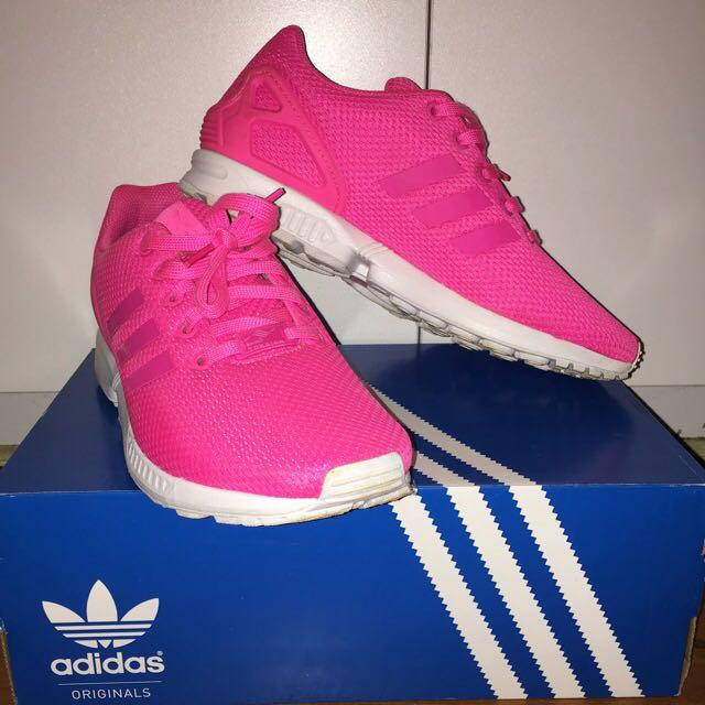 Hot Pink Adidas ZX FLUX