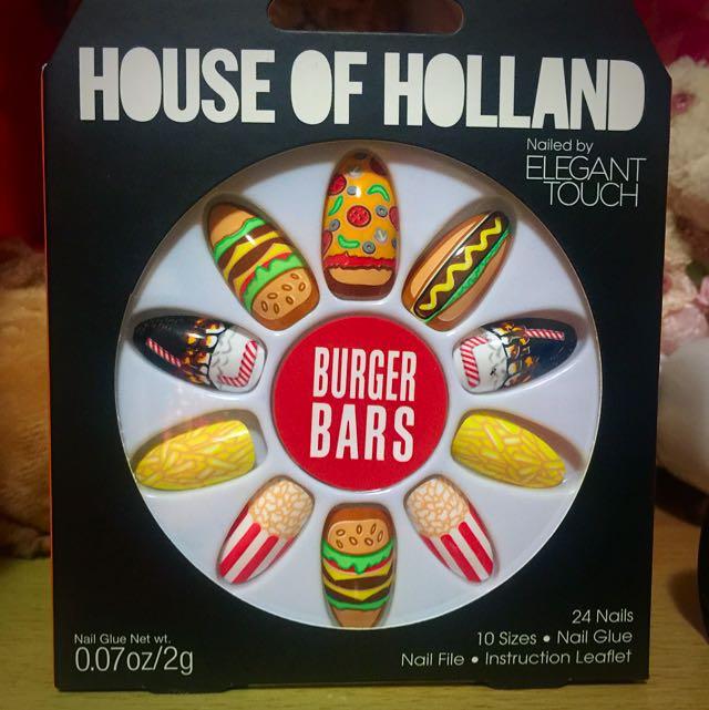 House Of Holland Burger Bars Nails