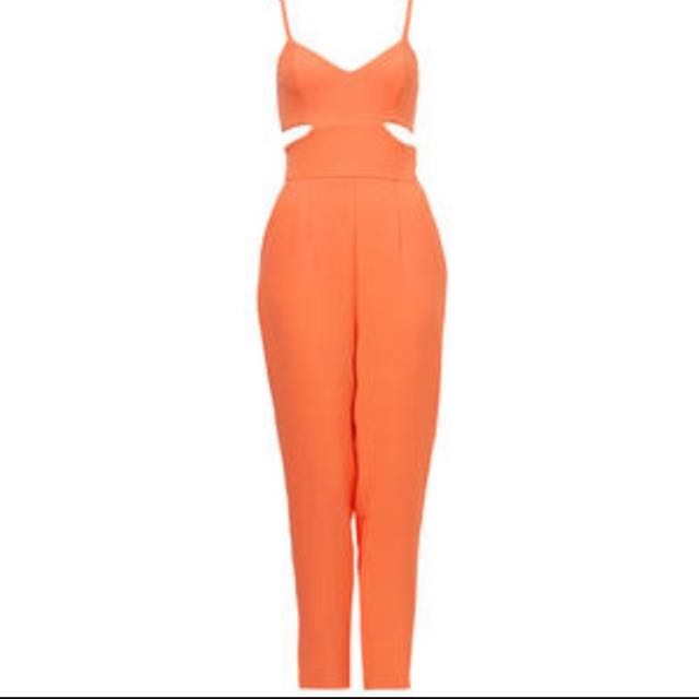 Kookai Jumpsuit With Cut Outs