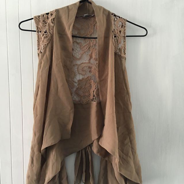 Lightweight Lace Vest