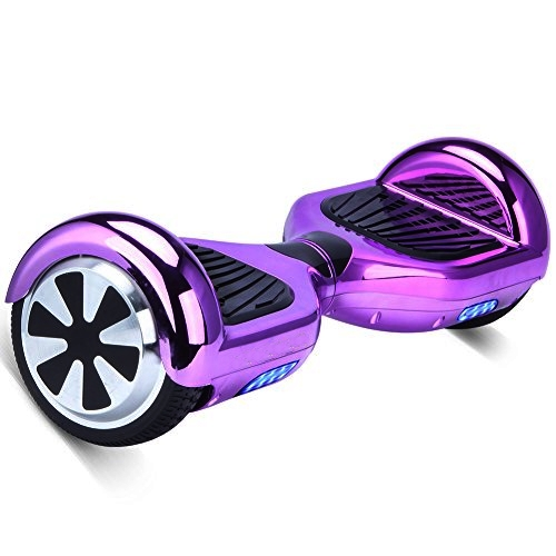 Limited Edition Chrome Purple Hoverboard In Town Segway