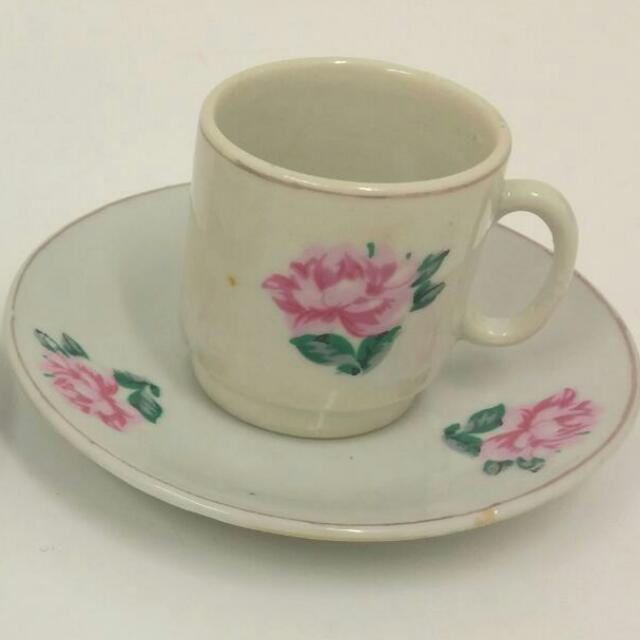 Mini Tea Cup & Saucer