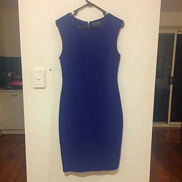 Mirrou Blue Work Dress