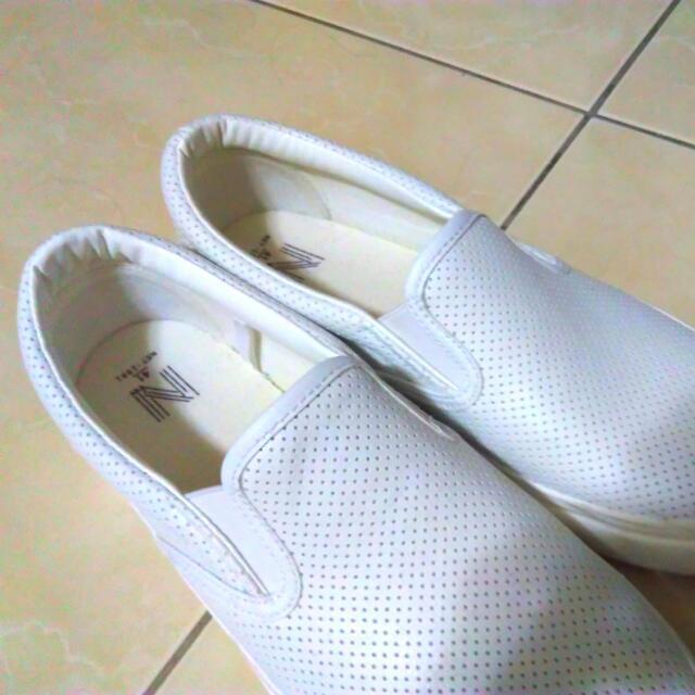(保留)Net 白休閒鞋