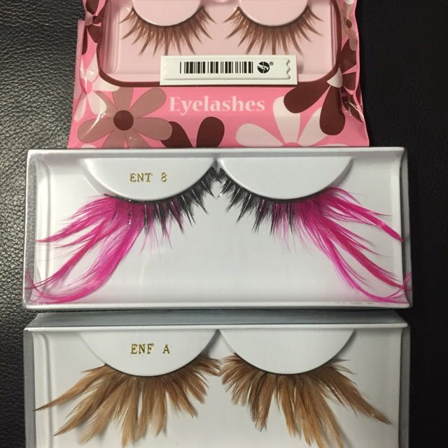 NEW False Eyelashes x 3 Sets